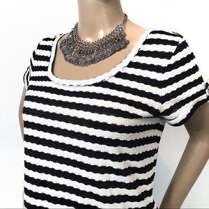 The Limited Striped SS Top NWT M